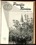 Pacific Review April 1960 (Bulletin of the College of the Pacific)