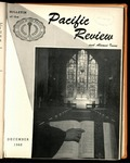 Pacific Review December 1960 (Bulletin of the College of the Pacific)