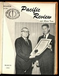Pacific Review March 1961 (Bulletin of the University of the Pacific)