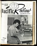 Pacific Review January 1962 (Bulletin of the University of the Pacific)