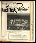 Pacific Review December 1962 (Bulletin of the University of the Pacific)