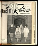Pacific Review Janurary 1963 (Bulletin of the University of the Pacific)