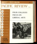 Pacific Review Fall 1966   (University of the Pacific Bulletin)