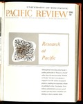 Pacific Review Spring 1967 by Pacific Alumni Association