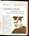 Pacific Review Winter 1967-68
