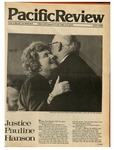Pacific Review May 1980 by Pacific Alumni Association