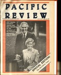 Pacific Review May/June 1987 by Pacific Alumni Association