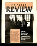 Pacific Review Sept/Oct 1990 by Pacific Alumni Association