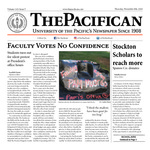 The Pacifican November 8, 2018 by University of the Pacific