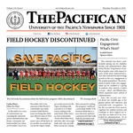 The Pacifican December 6, 2018 by University of the Pacific