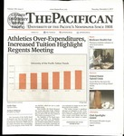 The Pacifican November 2, 2017 by University of the Pacific
