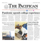 The Pacifican March 19, 2020 by University of the Pacific