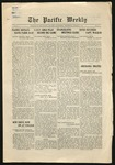Pacific Weekly, March 6, 1918