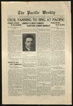 Pacific Weekly, April 10, 1918