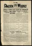 Pacific Weekly, May 15, 1919