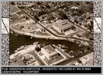 Aerial View: City Hall, Stockton, California. Anderson Airfoto, Modesto, Calif. by Anderson Airfoto