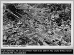 Aerial View: Airview of Stockton, California by Bardell Hi-Gloss Print