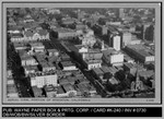 Aerial View: Aerial View, Portion of Stockton, California K-239 by Wayne Paper Box and Printing Company