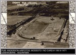 Aerial View: County Fair Grounds, Stockton, California. Anderson Airfoto, Modesto, Calif. by Anderson Airfoto