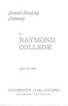Ground-Breaking Ceremony for Raymond College