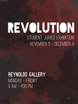 Revolution: Student Juried Exhibition