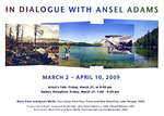 In Dialogue with Ansel Adams