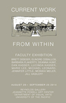 Faculty Exhibition: Current Work From Within