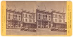 "Stockton: ""Hunter St. cor of Weber Ave - Mansion house, The Windsor Hotel later."""
