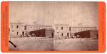 Stockton: (Construction in rear of unidentified building, ca. 1880.)