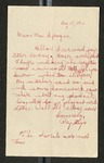 Letter from Ray Itaya to Claire D. Sprauge, May 18, 1942 by Ray Itaya