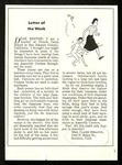 """Letter of the Week"", Saturday Evening Post August 15, 1942 by Claire D. Sprague"