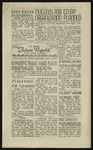 The Daily Tulean Dispatch, August 4, 1942 by Frank Tanabe, Howard M. Imazeki, and G. T. Watanabe