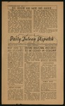 The Daily Tulean Dispatch, November 18, 1942