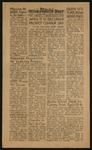 """The Daily Tulean Dispatch, April 9, 1943 by [Tsuyoshi """"Tootie""""] [Nakamura]"""