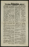 The Daily Tulean Dispatch, August 14, 1943 by unknown