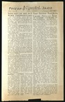 The Daily Tulean Dispatch, August 4, 1943 [Incomplete]