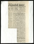 The Daily Tulean Dispatch, Clippings May to July by unknown