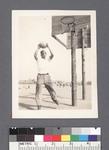Basketball: man shooting ball #1 by Richard Shizuo Yoshikawa