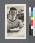 One man #3 [striped t-shirt] by Richard Shizuo Yoshikawa
