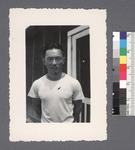 One man #41 [arms behind back] by Richard Shizuo Yoshikawa