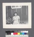 One woman #11 [flowered dress] by Richard Shizuo Yoshikawa