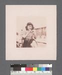 One woman #14 [striped t-shirt] by Richard Shizuo Yoshikawa